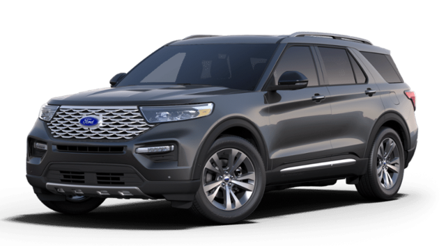 2020 Ford Explorer Platinum 4WD V6 Engine